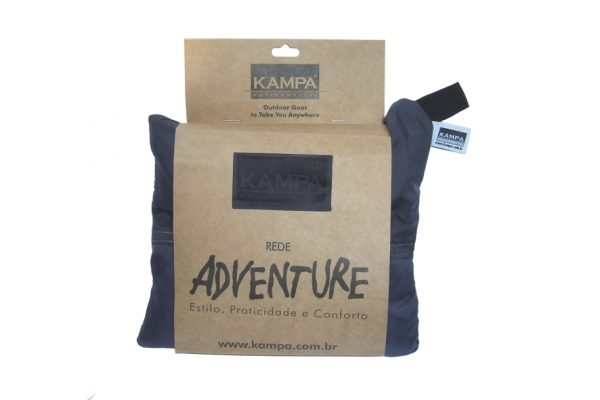 Rede de camping Adventre Kampa cor chumbo